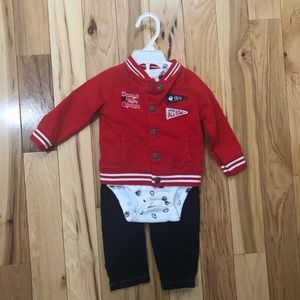 Baby baseball ⚾️ outfit 12m